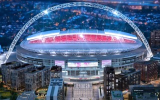London: Iconic Wembley pedway being demolished