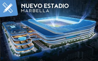New design: Costa del Sol's stadium like a superyacht