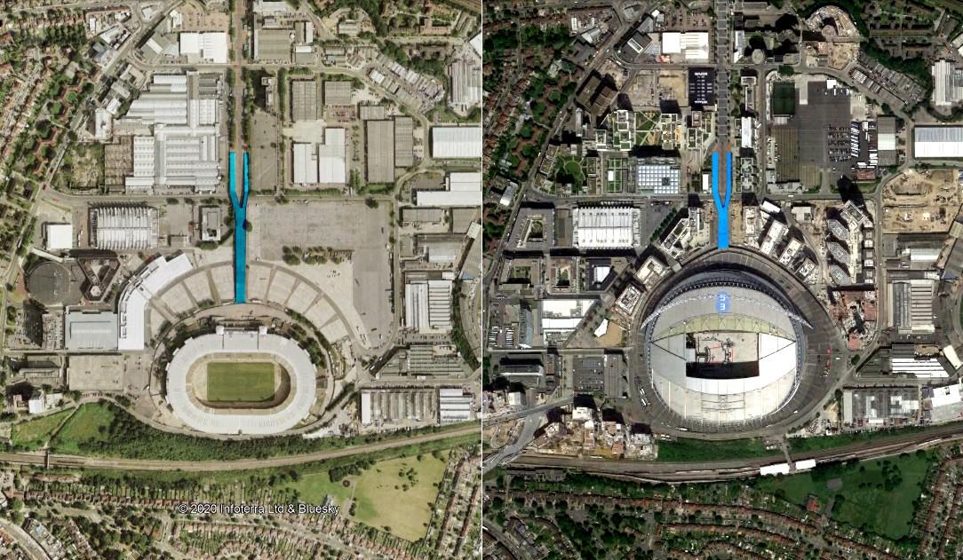 Wembley access
