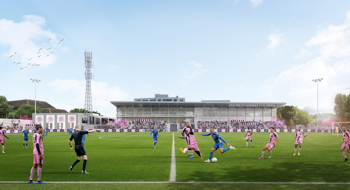 Dulwich Hamlet FC - Champion Hill