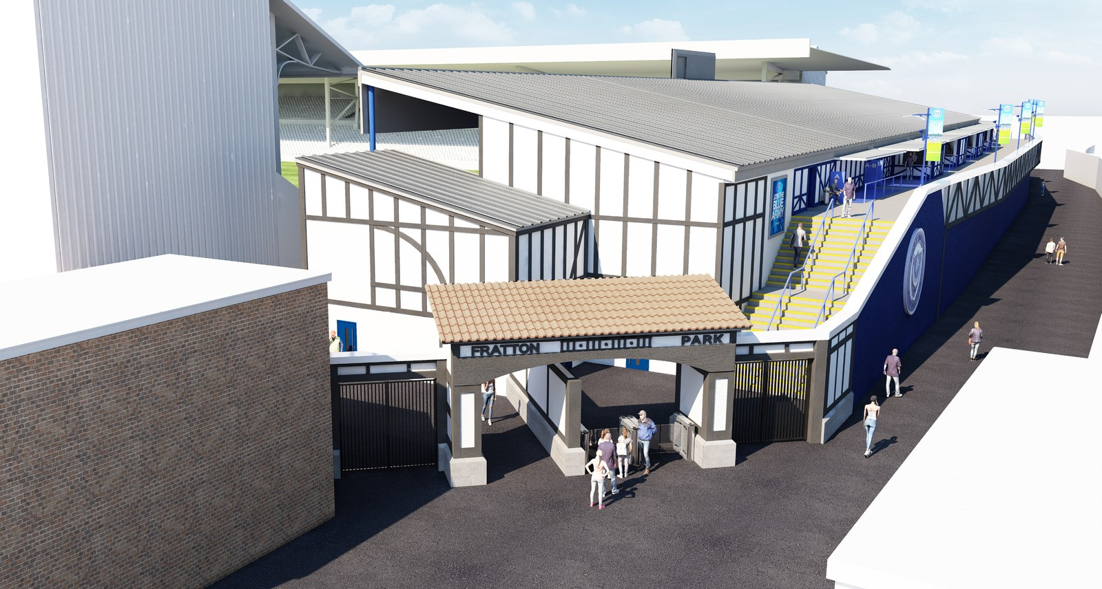Fratton Park expansion plans