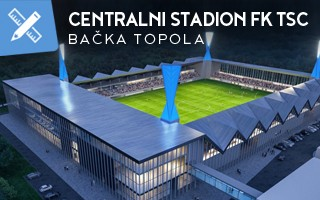 New design: One more of Orbán's foreign stadiums