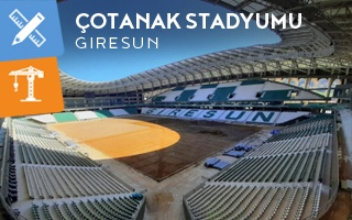 New design and construction: The hazelnut stadium of Giresun