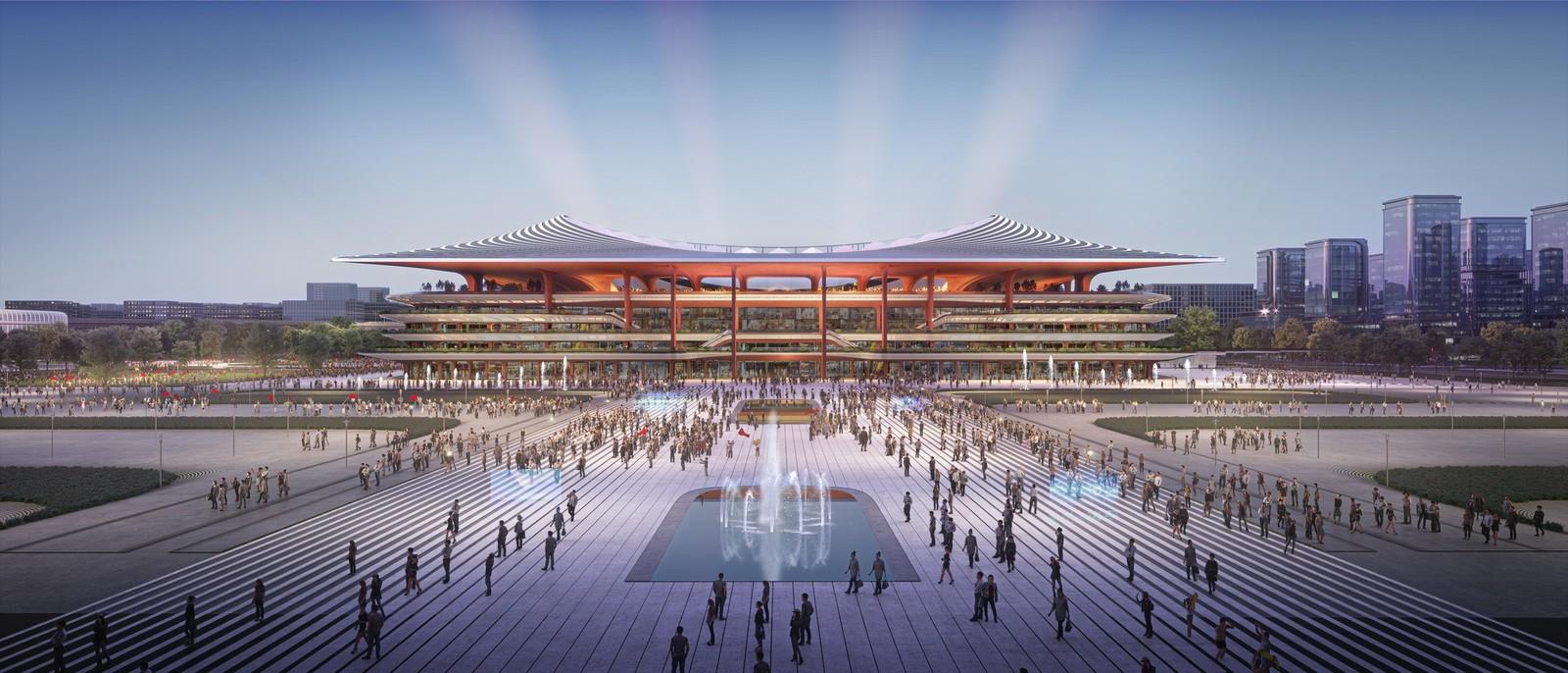 Xi'an International Football Centre Stadium