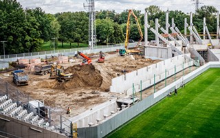 Poland: Fourth stand in Łódź under construction