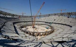 Qatar 2022: Lusail Stadium bracing for big lift