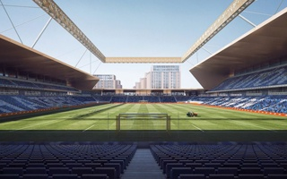 England: Luton Town rethinking stadium design due to COVID-19