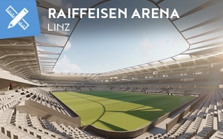 New design: LASK pursuing Rapid with this stadium