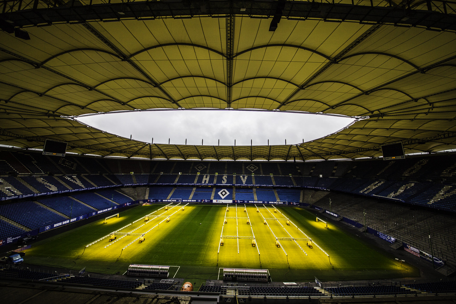 Volksparkstadion, Hamburg, home of HSV, Hamburger SV
