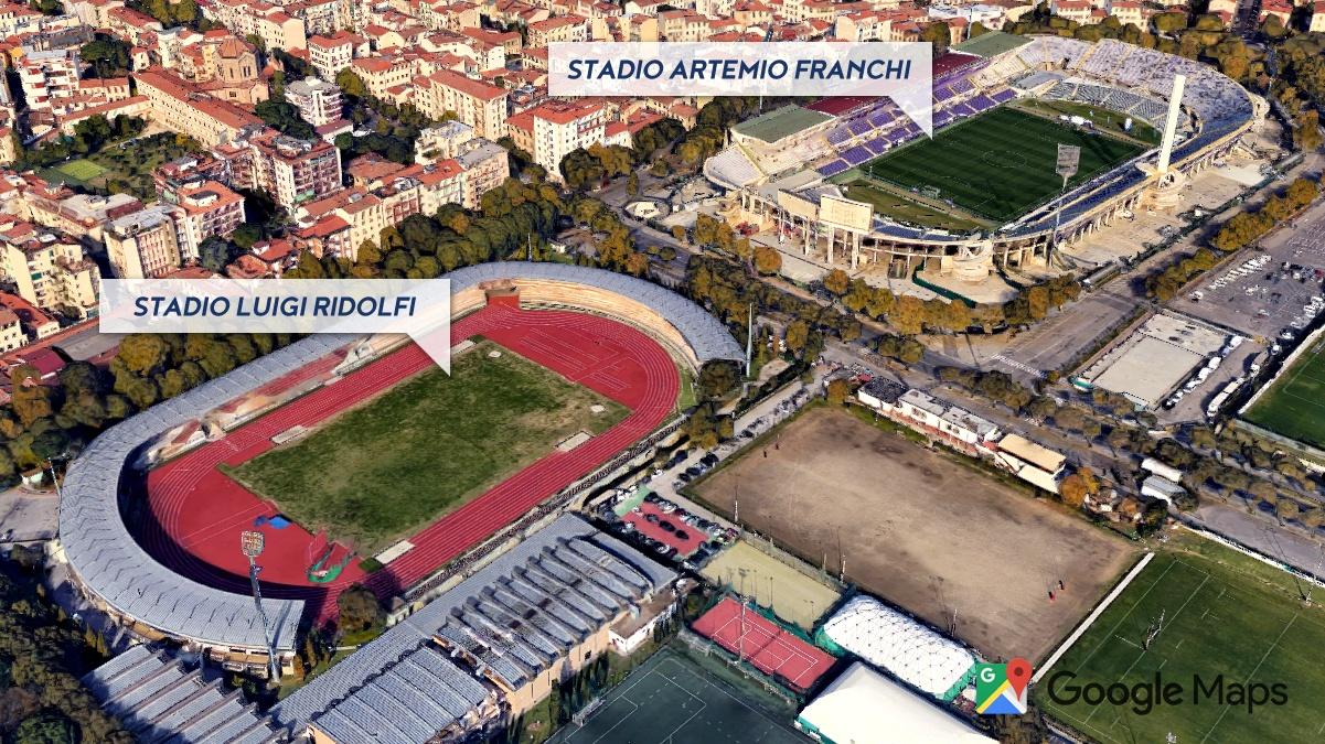 Stadio Fiorentina - Stadio Artemio Franchi & Stadio Luigi Ridolfi