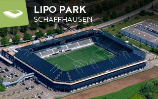 New stadium: The solar-powered compact from Schaffhausen