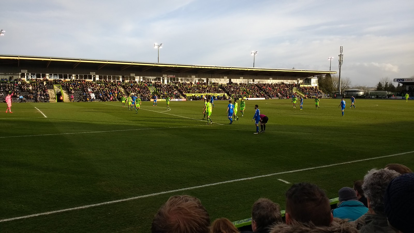 Forest Green Rovers - innocent New Lawn is the new name