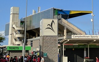 Campbelltown Stadium – new to the A-League