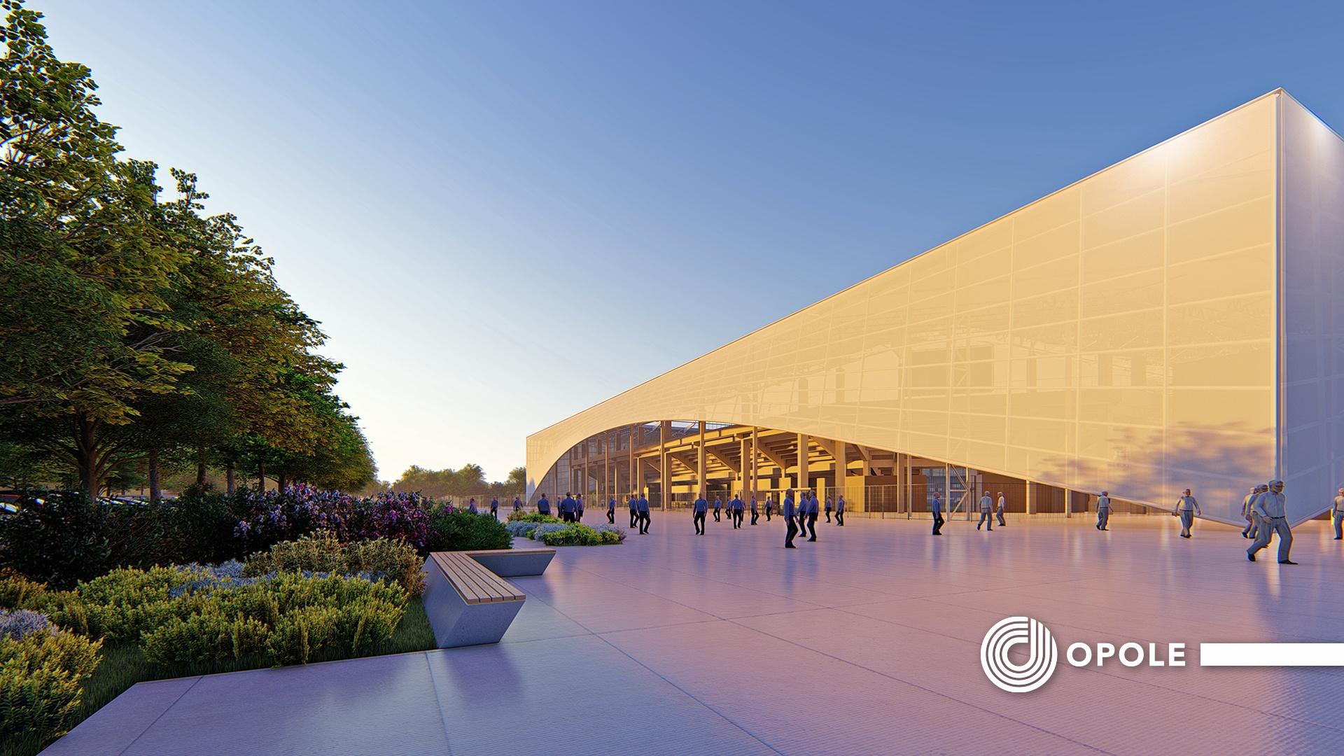 Nowy stadion miejski w Opolu