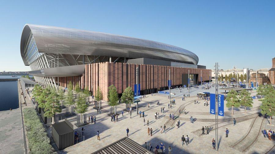 Everton stadium, Bramley-Moore Dock