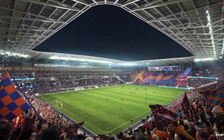 Ohio: FC Cincinnati from March at the new stadium