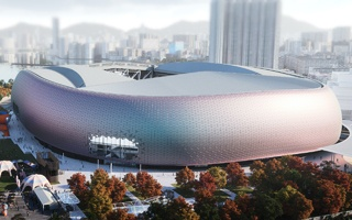 Hong Kong: Updated design of Kai Tak Sports Park released