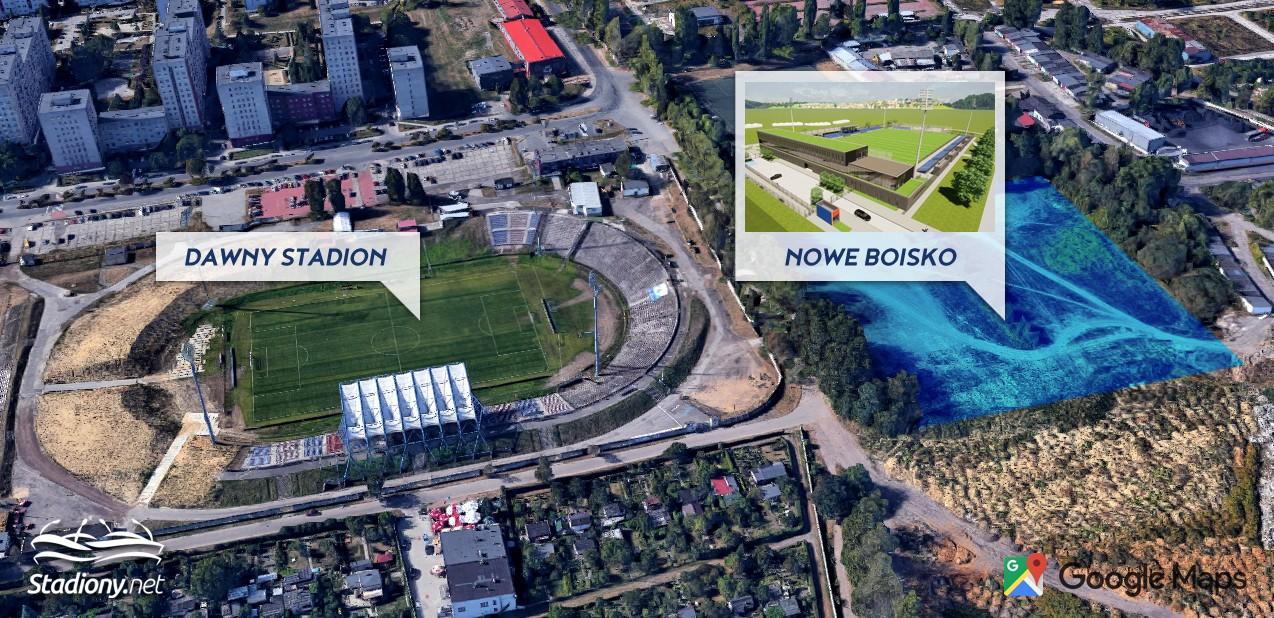 Stadion Polonii w Bytomiu