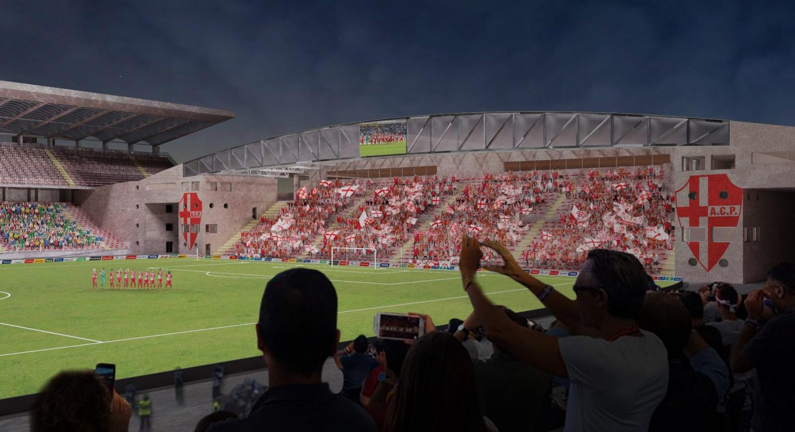 Stadio Euganeo reconstruction