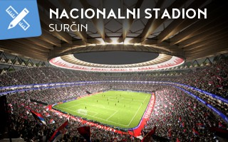 "New design: ""Serbian Wembley"", Vučić's grand vision"