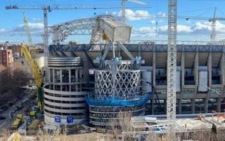 Madrid: Progress in construction of new Santiago Bernabéu