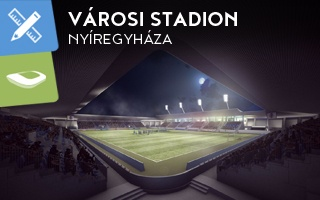 New stadium & design: New stadium to be built in Nyíregyháza