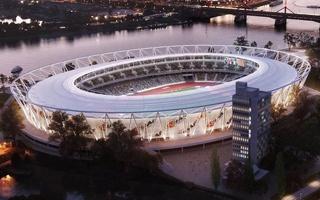 Budapest: National Athletics Stadium from contractors of Puskás Aréna