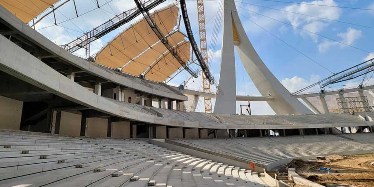 Cambodia: National stadium 85% ready, delayed again