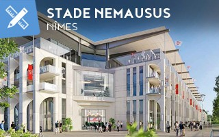 New design: Stade Nemausus inspired by antiquity
