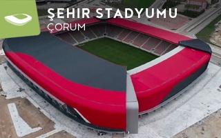 New stadium: The red heart of Çorum