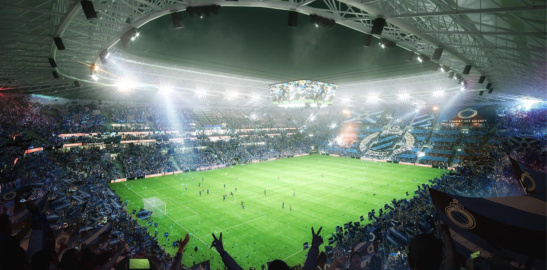 Nieuw Stadion Club Brugge