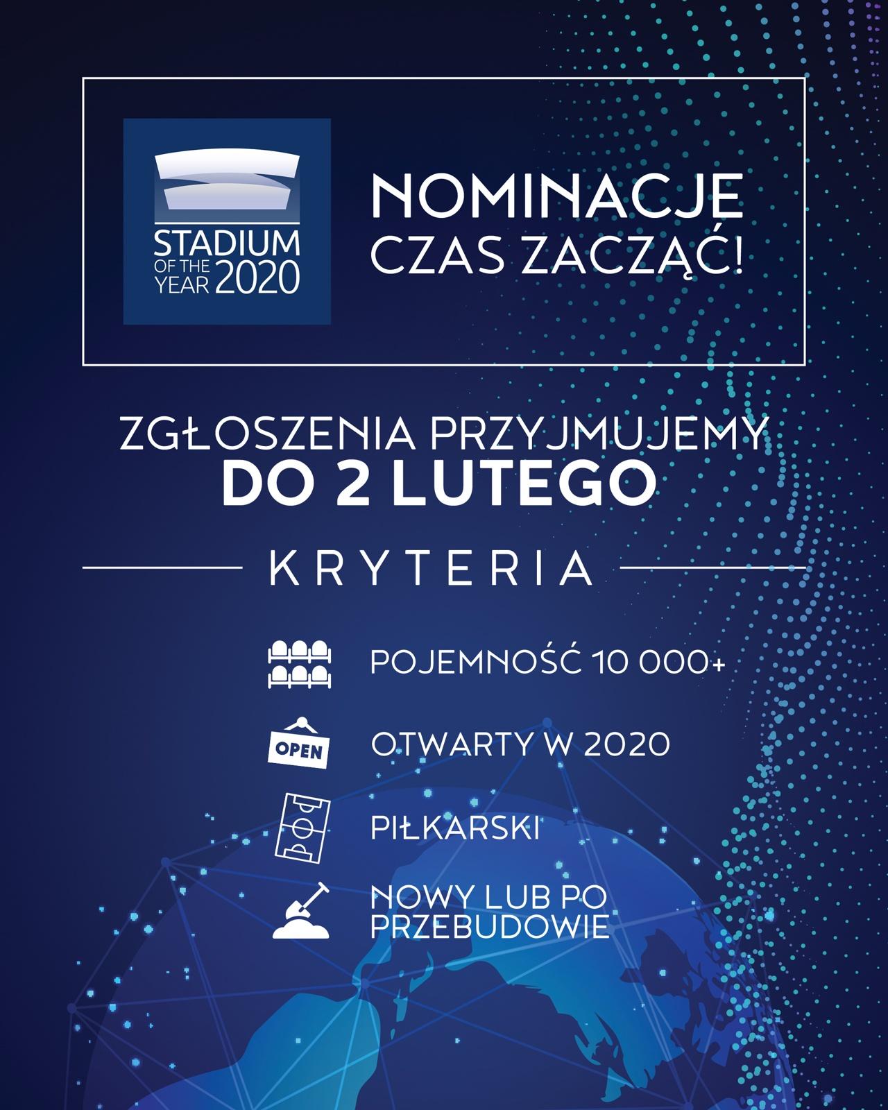 Nominacje - Stadium of the Year