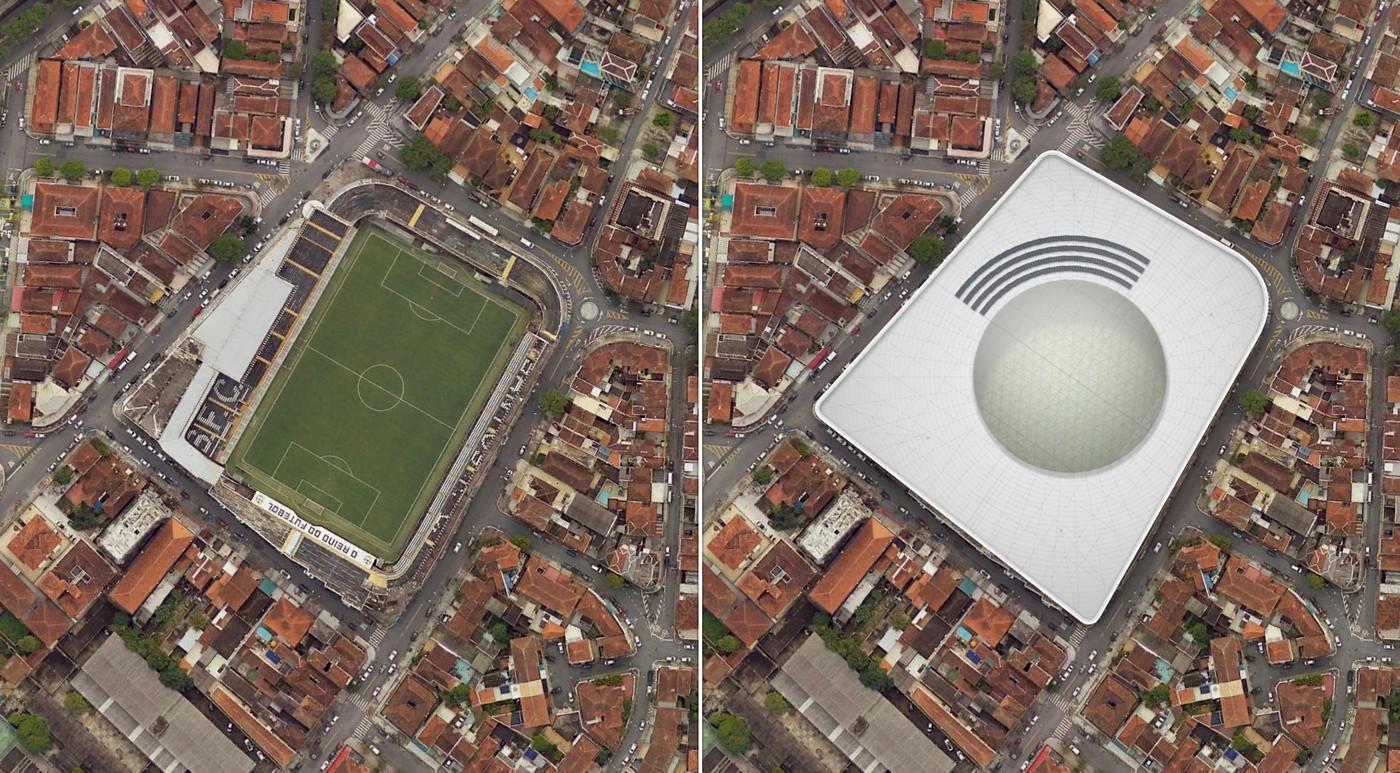 Estadio Urbano Caldeira, Vila Belmiro