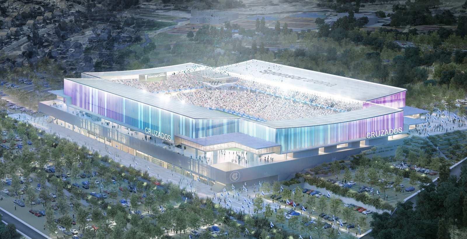 Estadio San Carlos de Apoquindo, Santiago de Chile