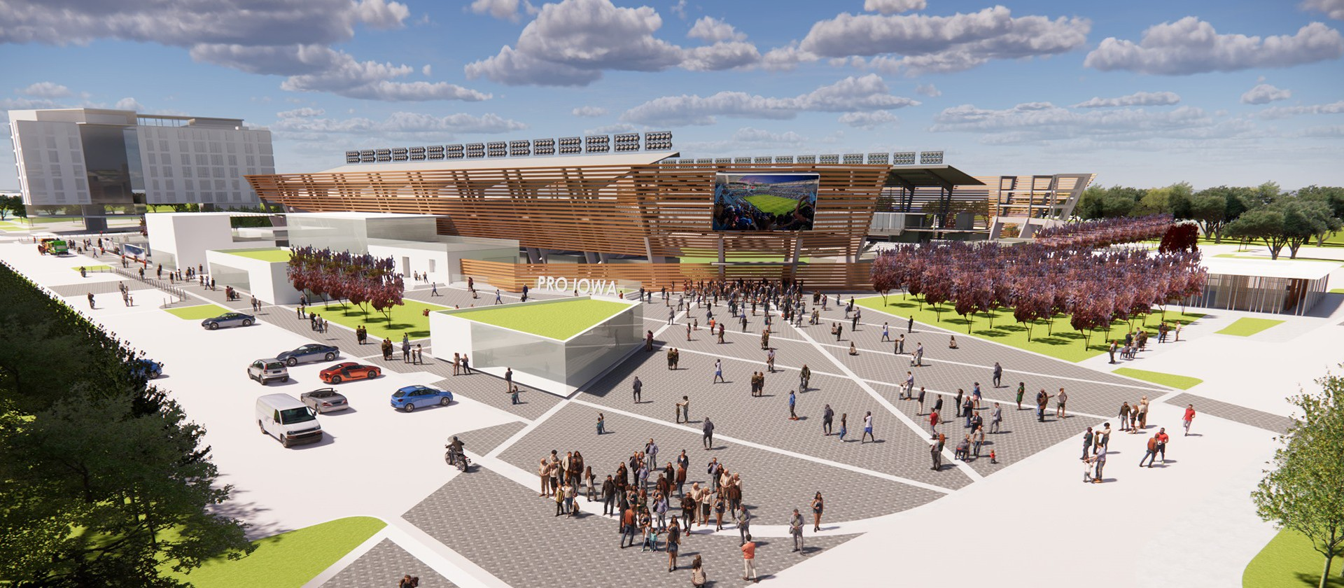 Pro Iowa USL stadium plan