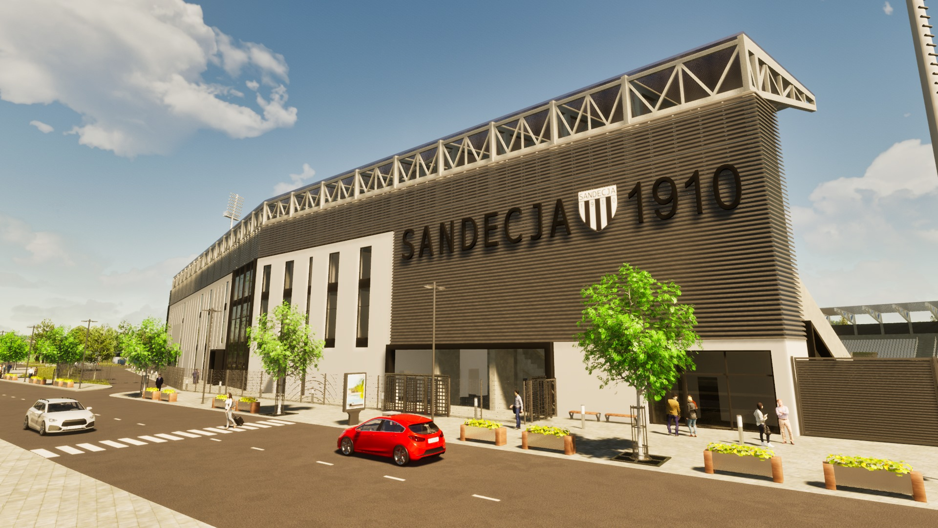 Stadion Sandecji, Nowy Sącz