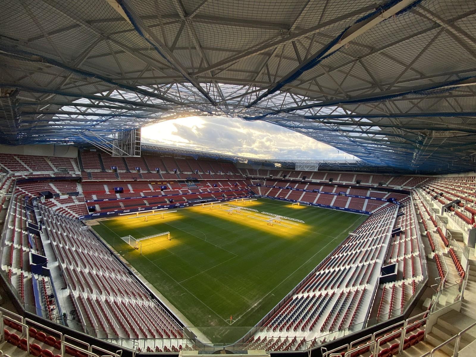 Estadio El Sadar, CA Osasuna Pamplona