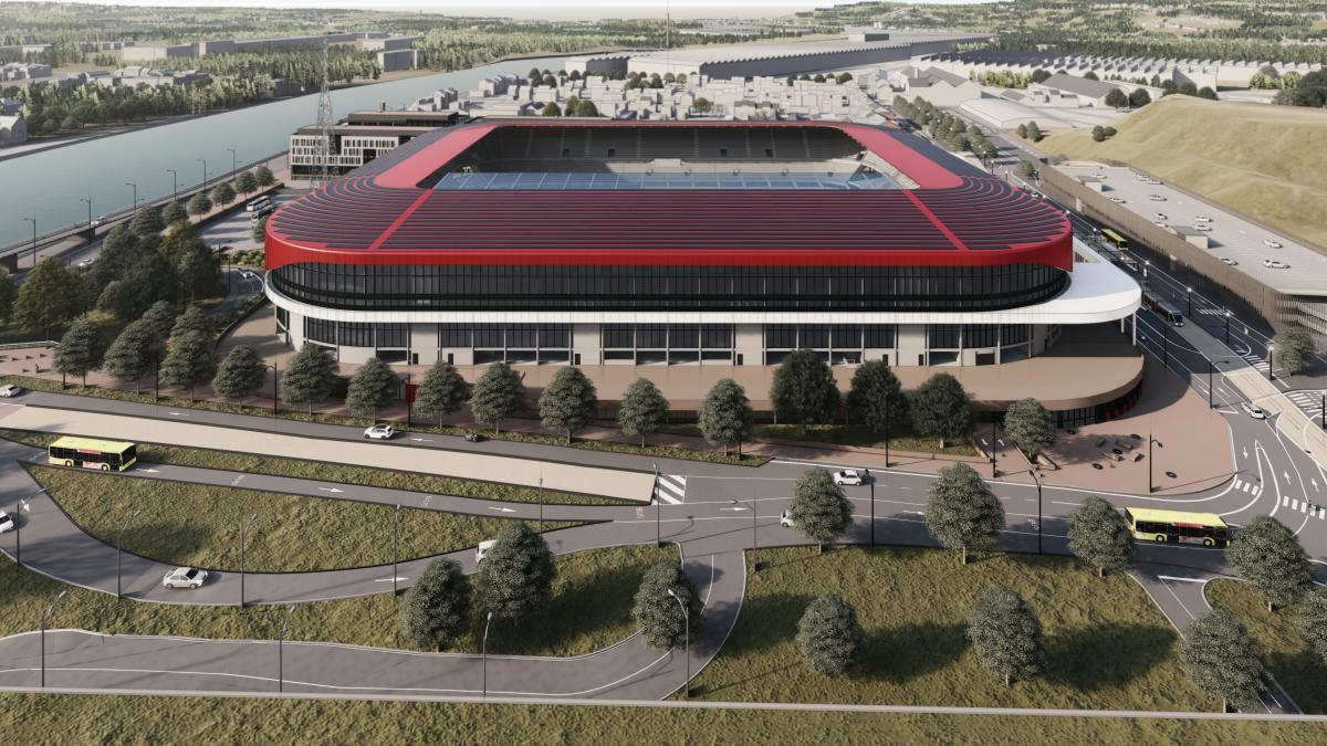 Stade de Sclessin reconstruction, Standard de Liege