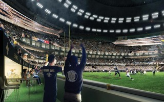 USA: New Orleans Saints upgrade the Superdome to boost naming rights