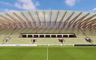 England: EFL back wooden stadium in Forest Green