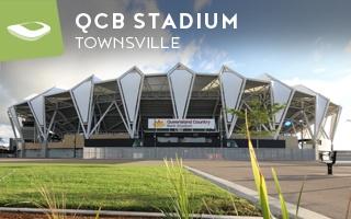 New stadium: The pandan leaf stadium from North Queensland