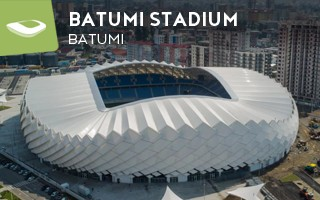 New stadium: The dancing facades of Batumi