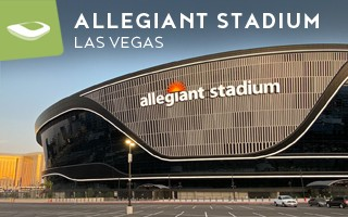 New stadium: The death star has landed in Sin City