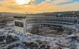 USA: SDCCU Stadium' demolition ongoing
