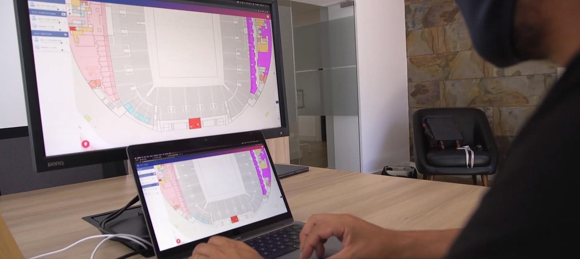 UEFA's new VISTA system for stadium operation