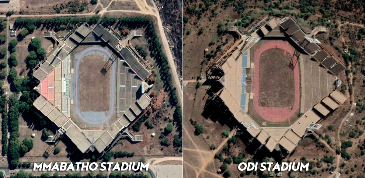 Mmabatho Stadium vs. Odi Stadium