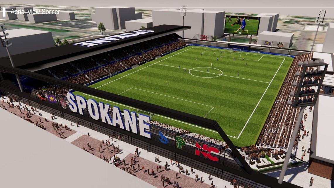 Spokane USL Soccer Stadium