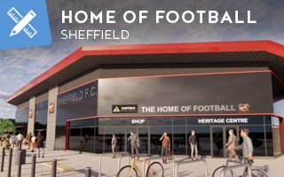 New design: The oldest club planning their latest home