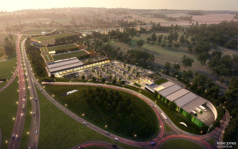 Luton Town - Power Court and Newlands Park development
