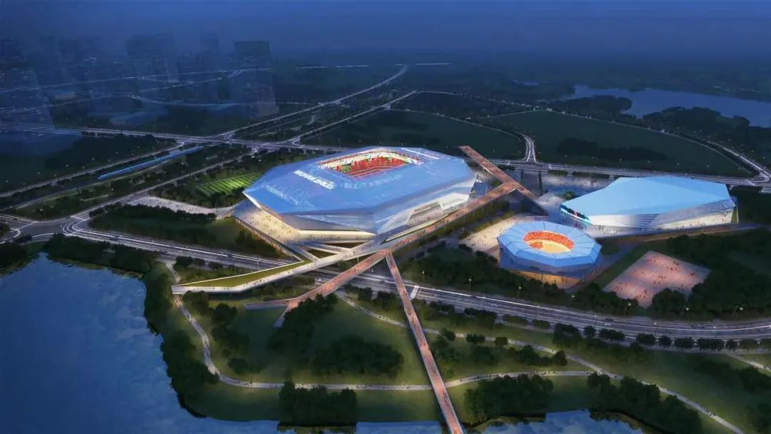 Wuhan FC Staidum / Wuhan Airport International Sports Centre Stadium